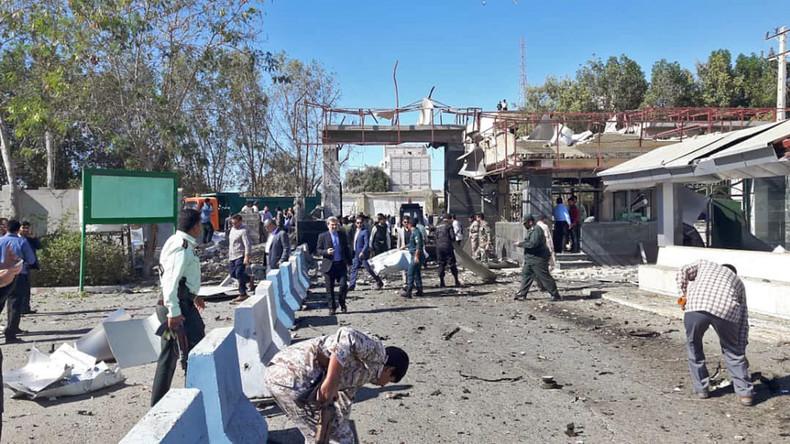 Mindestens zwei Tote: Iranische Sicherheitskräfte stoppen in letzter Sekunde Autobomben-Attentäter