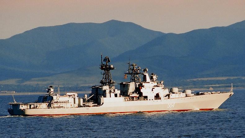 "US-Zerstörer McCampbell ""zeigt Flagge"" – in den Visieren russischer Seeleute und Piloten"