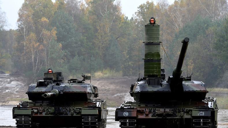 Es rollt: Bundeswehr stellt neues Panzerbataillon auf