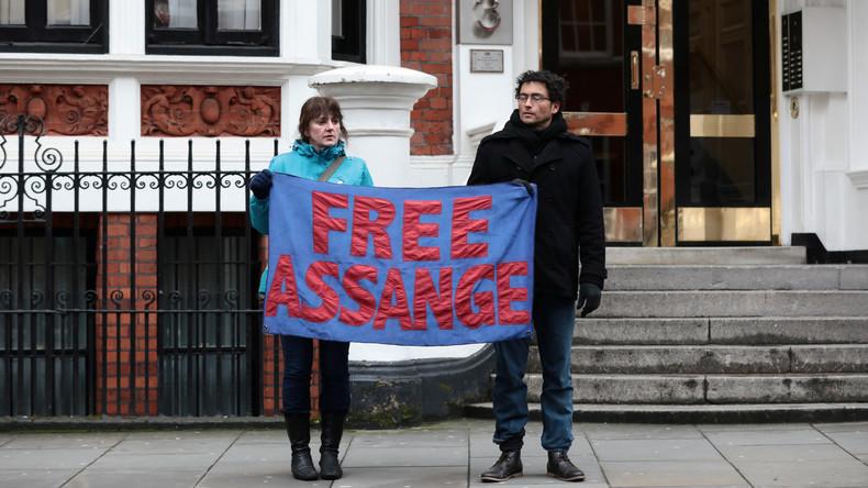 """Moreno: London hat """"Garantien"""" gegeben, dass Assange nicht ausgeliefert wird und Todesstrafe erhält"""
