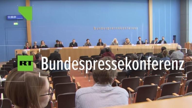 Bundespressekonferenz: NATO-Raketen rein defensiv ausgerichtet – nur Russland verletzt INF-Vertrag