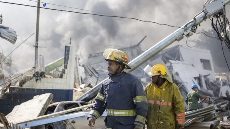 Fünf Tote und mehr als einhundert Verletzte nach Explosion in Dominikanischer Republik