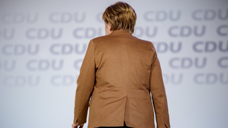 Merkels Abtritt: Unions-Fraktionschef sieht knappes Rennen um Nachfolge