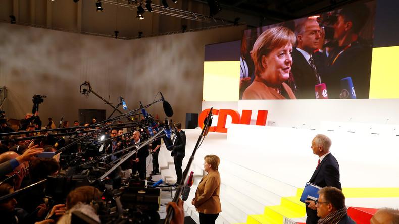 LIVE-Stream: CDU-Delegierte stimmen in Hamburg über Merkel-Nachfolge ab