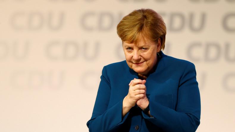 """""""Es war mir eine Ehre"""" – Merkels Abschiedsrede als CDU-Vorsitzende in Auszügen (Video)"""