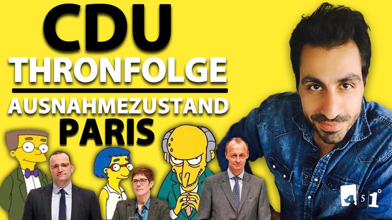 CDU-Parteitag Finale | Paris Fake-Brand | 451 Grad | 78