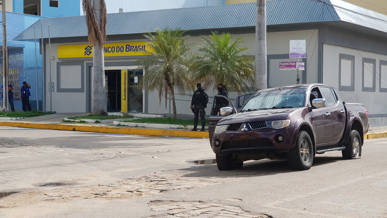 Mindestens 13 Tote bei Banküberfall in Brasilien