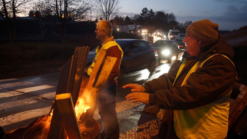 LIVE vom Samstag: Tränengas und Straßenschlachten beim Protest der Gelbwesten in Paris