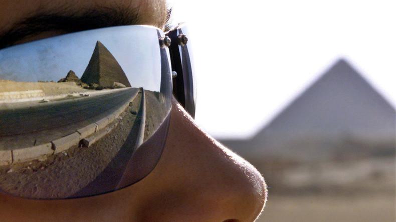 Bild mit nacktem Paar auf Cheops-Pyramide sorgt für Aufregung in Ägypten