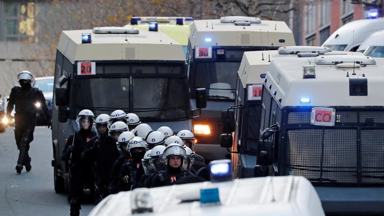 """Belgien rüstet sich mit Festnahmen für """"Gelbwesten""""-Proteste"""