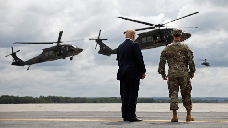 Donald Trump kritisiert Deutschland für Verteidigungsausgaben