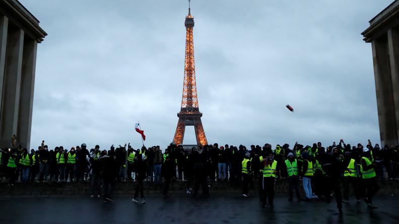 """Vorläufige Bilanz der Proteste in Frankreich: Der """"Sturm des Elysée-Palasts"""" blieb aus"""