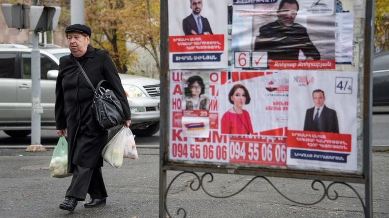 Armenien wählt Parlament