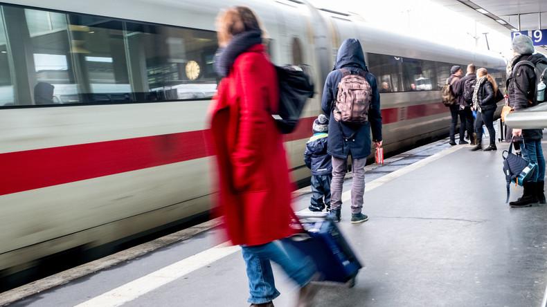 Deutsche Bahn: Bundesweiter Warnstreik am Montagmorgen zwischen 5 Uhr und 9 Uhr