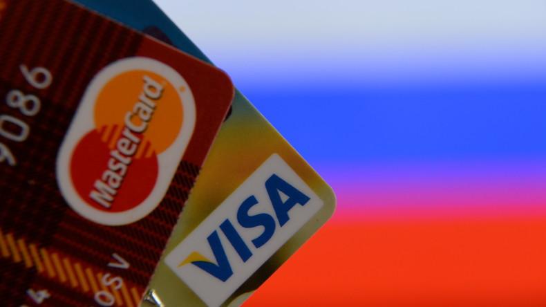 Russland erwägt Abschaltung von Visa und MasterCard wegen US-Sanktionen