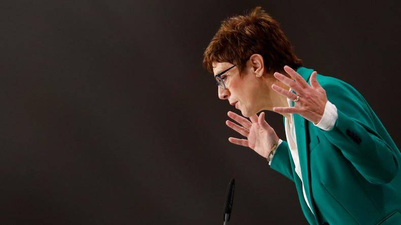 Nach der Wahl von Kramp-Karrenbauer: Quo vadis, CDU?