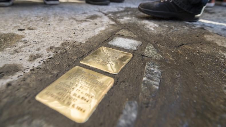 Stolpersteine zum Gedenken an Nazi-Opfer in Rom gestohlen