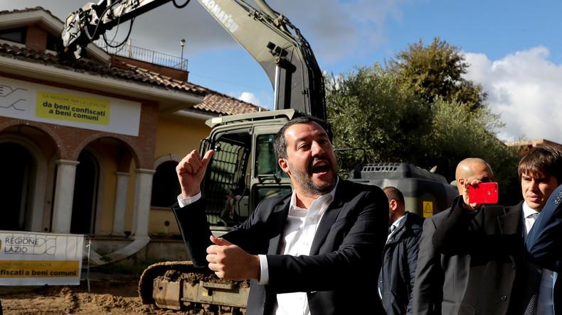 "Matteo Salvini fordert neue ""Achse Berlin-Rom"""
