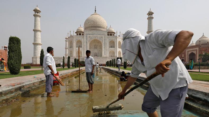 Ausgrenzung von Einheimischen? Taj Mahal für Inder 400 Prozent teurer – für Touristen nur 20 Prozent