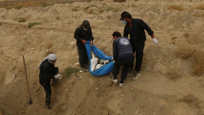Syrische Armee findet sieben Massengräber mit Opfern von Terrormilizen – viele mit Spuren von Folter