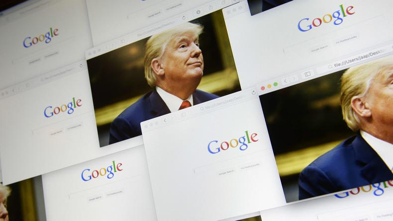 """Fotos von Donald Trump erscheinen bei """"Idiot""""-Suche - Google-Chef erklärt warum"""