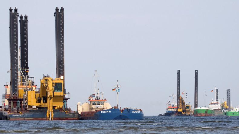 Moskau reagiert auf US-Resolution gegen Gaspipeline Nord Stream 2:  Unfairer Wettbewerb
