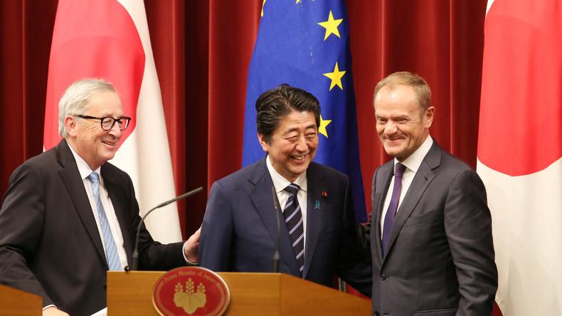 EU schliesst Freihandelsabkommen mit Japan