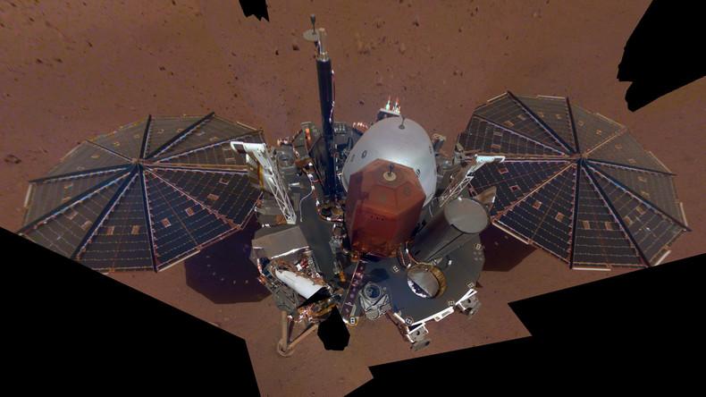 "NASA-Roboter ""InSight"" macht erstes Selfie auf dem Mars"