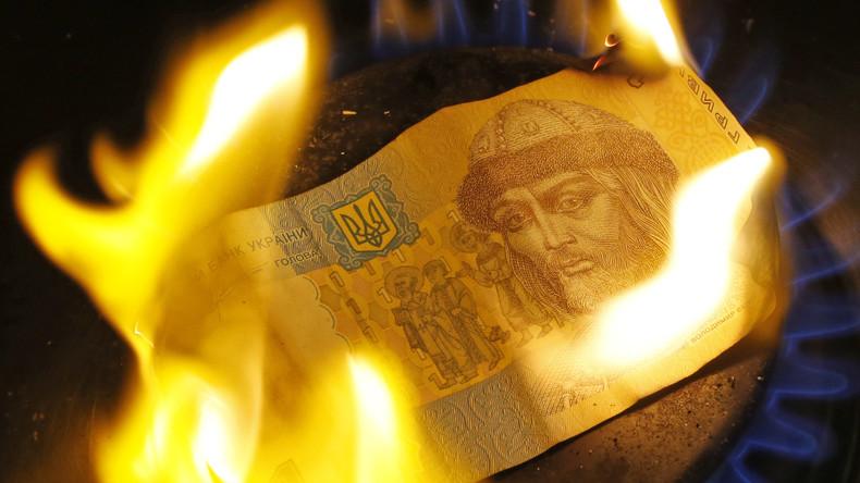 """Kosten der Unabhängigkeit: Ukraine zahlt Rekordpreis für """"europäisches"""" Gas"""