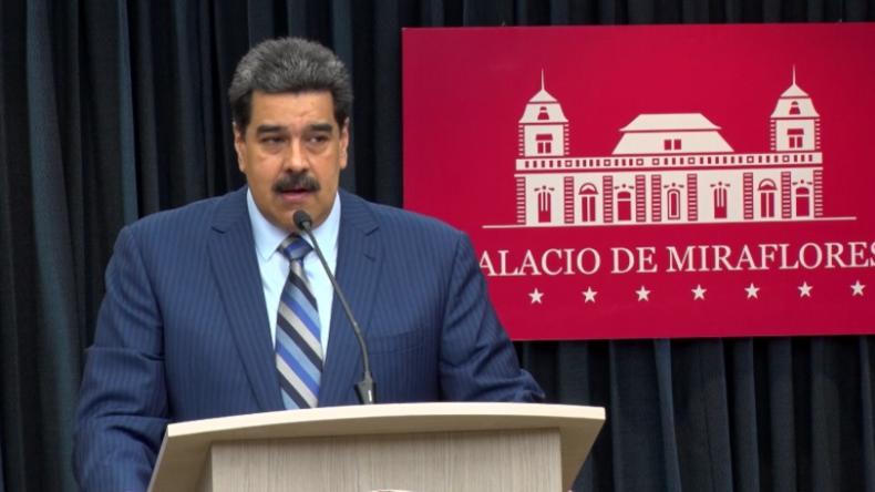"""Maduro kontert US-Kritik an Manöver mit Russland: """"Ihr habt über 700 Basen und 40 Millionen Arme!"""""""