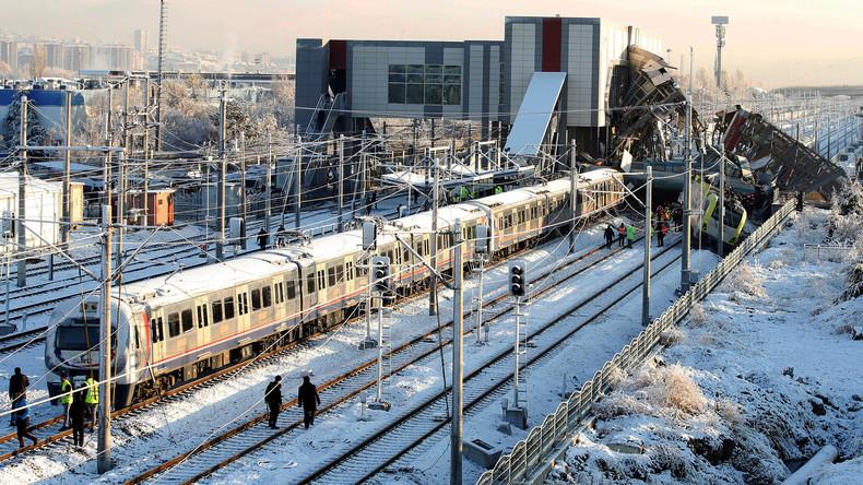 Zahl der Toten bei Zugunglück in Ankara steigt auf neun - auch Deutscher unter Toten