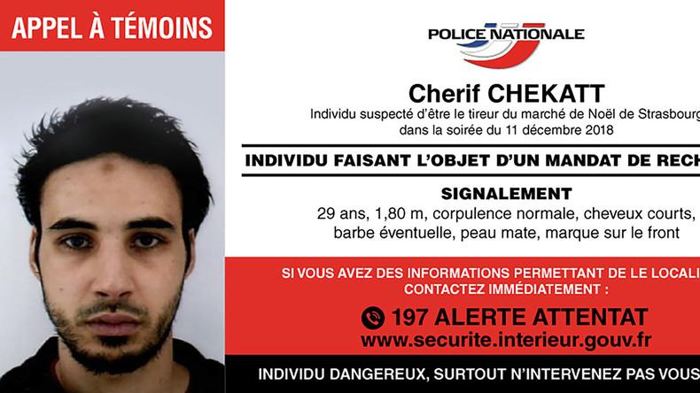 Attentäter von Strasbourg durch eine Polizeistreife erschossen