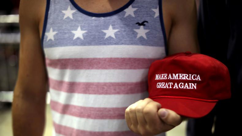 USA: Pro-Trump-Mützen als Gesundheitsrisiko (Video)