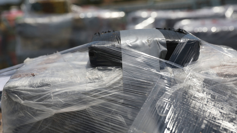 Griechische Küstenwache beschlagnahmt riesige Mengen Aufputschmittel auf syrischem Schiff