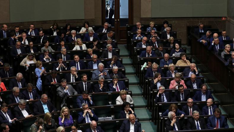Polens Opposition scheitert mit Misstrauensvotum gegen PiS-Regierung