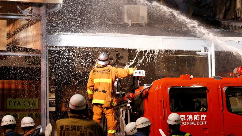Dutzende Verletzte bei Explosion in Restaurant in Japan