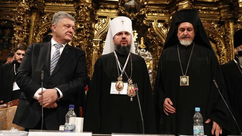 Poroschenko gründet ukrainische Nationalkirche – Mithilfe der CIA
