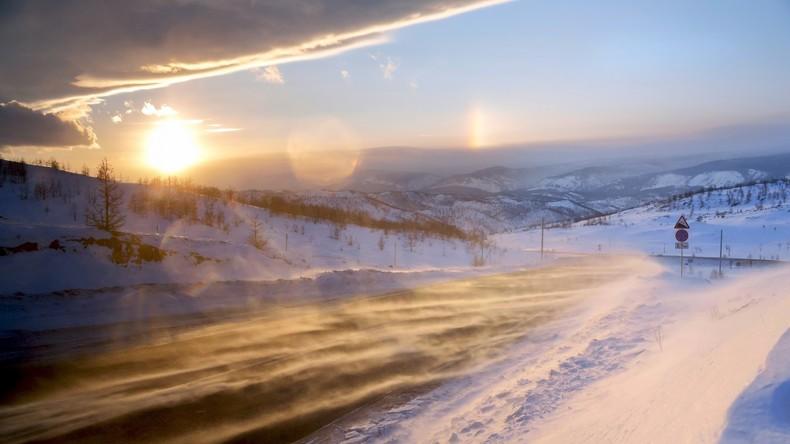 Spanischer Fahrrad-Tourist entgeht nur knapp Kältetod auf Reise zum Baikalsee