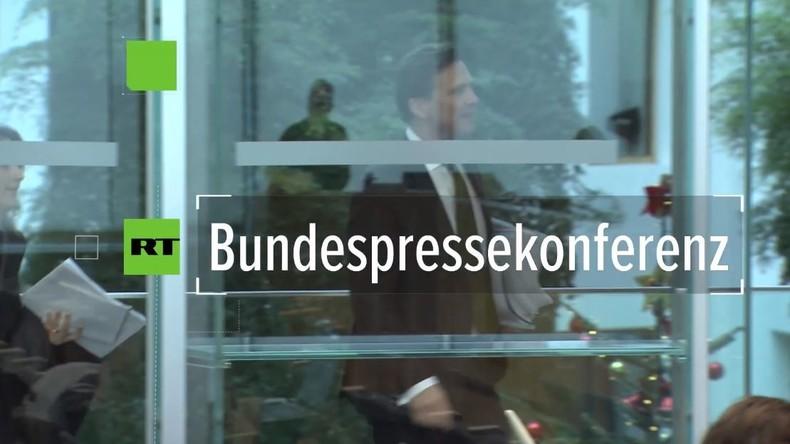 Bundespressekonferenz: Berater-Affäre nun auch im CSU-geführten Verkehrsministerium?