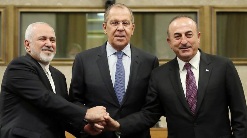 Syrien-Gespräche in Genf: Russland, der Iran und die Türkei einig über Verfassungsausschuss
