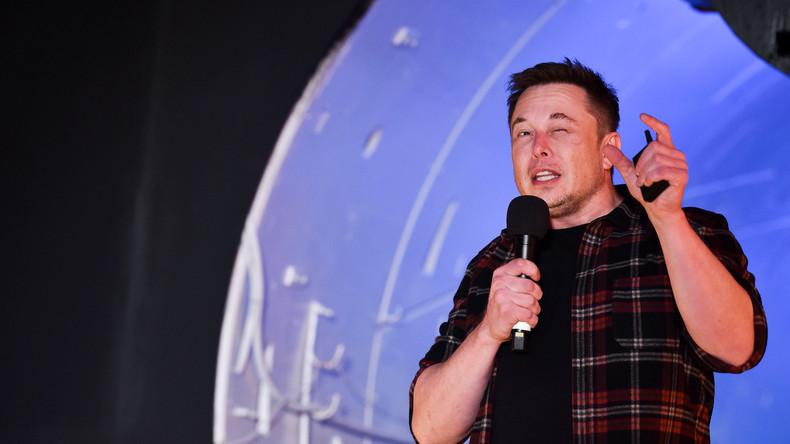 Mit 240 Stundenkilometern durch die Großstadt: Tesla-Chef eröffnet Test-Tunnel in Los Angeles