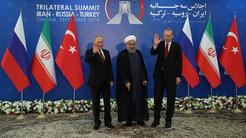 Russland, Iran & Türkei: Im Januar wird syrischer Verfassungsausschuss eingerichtet