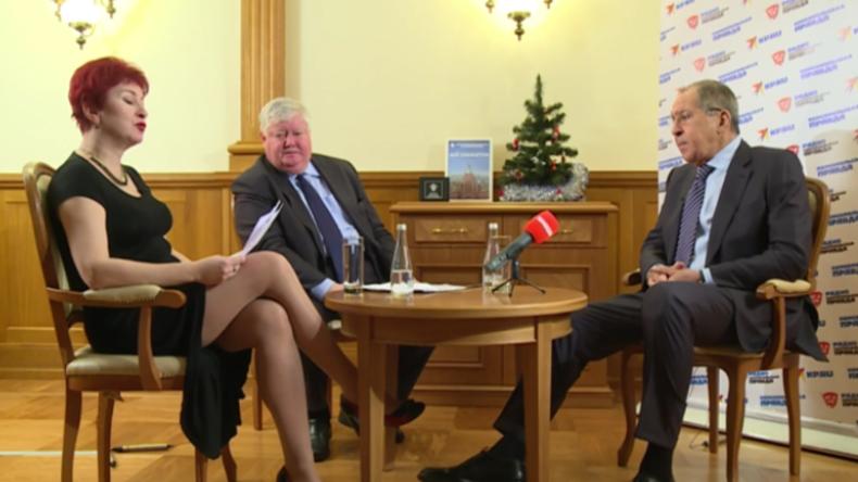 Lawrow: Poroschenko plant noch im Dezember weitere Militär-Provokationen an der Grenze zur Krim