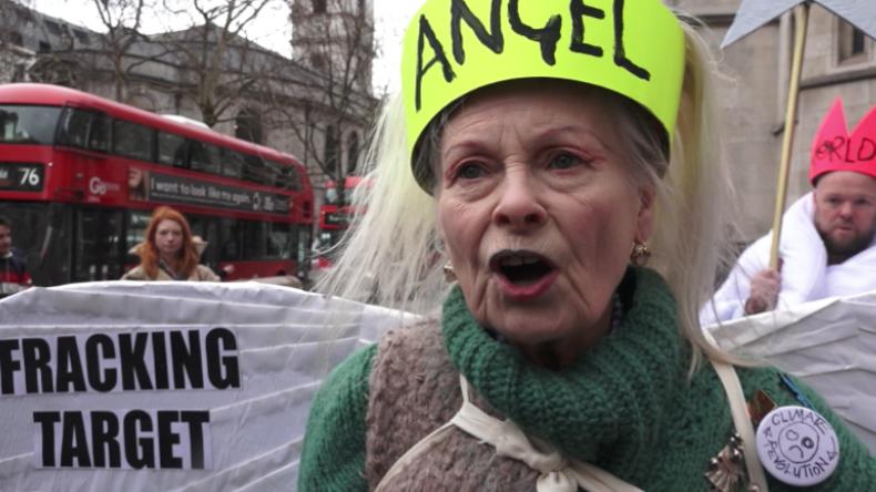 """Designerin startet Protest gegen Fracking: """"80 Prozent sind dagegen, trotzdem machen sie weiter!"""""""