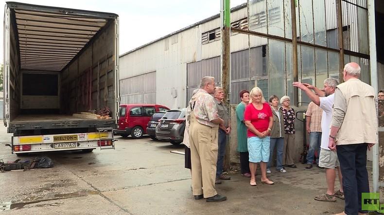 Von Sachsen nach Lugansk: Wie einfache Deutsche im Donbass helfen (Video)