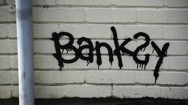 Weihnachtsgrüße von Banksy: Neues Graffiti in Wales aufgetaucht
