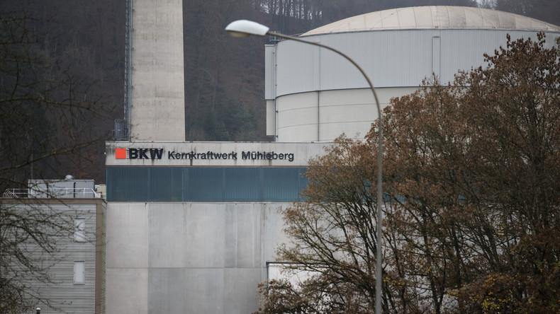 Countdown läuft: Schweizer Atomkraftwerk Mühleberg geht 2019 vom Netz