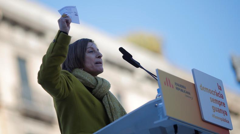 Nach neun Monaten Haft: Ehemalige Sprecherin des katalanischen Parlaments hofft auf Hilfe der EU