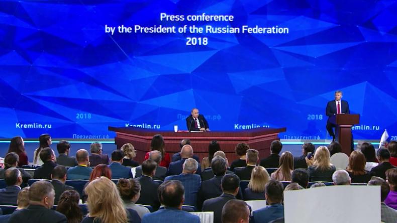 Putin: Sanktionen sind nichts Neues, das machen sie seit Jahrhunderten, um uns kleinzuhalten