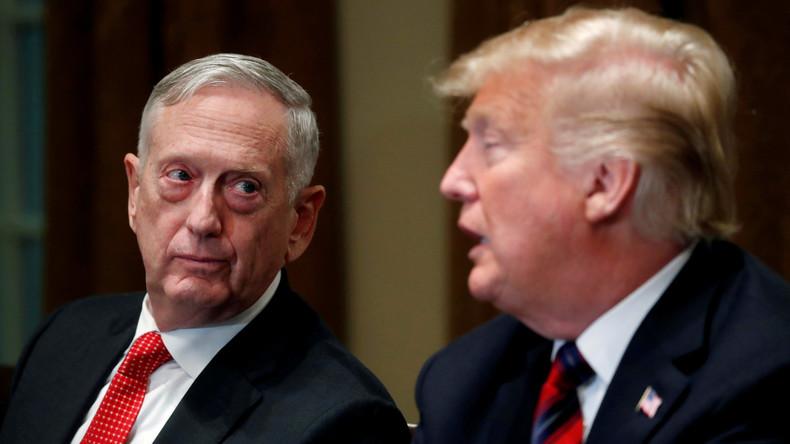 Aus Protest gegen Trumps Kurs: US-Verteidigungsminister Mattis scheidet aus dem Amt aus
